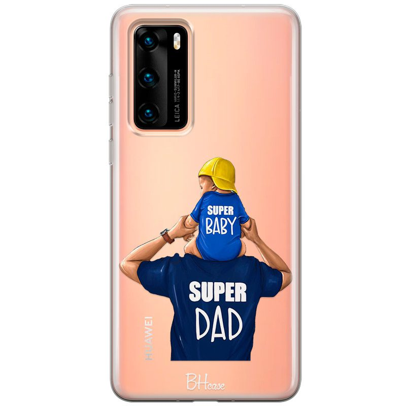 Father Is a Hero Coque Huawei P40