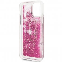 Karl Lagerfeld Floating Charms Rose Coque iPhone 11 Pro Max
