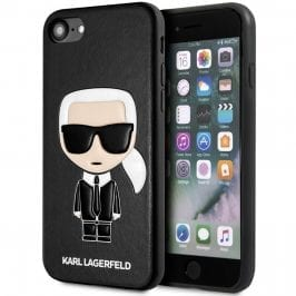 Karl Lagerfeld Iconic TPU Black Coque iPhone 8/7/SE 2 2020