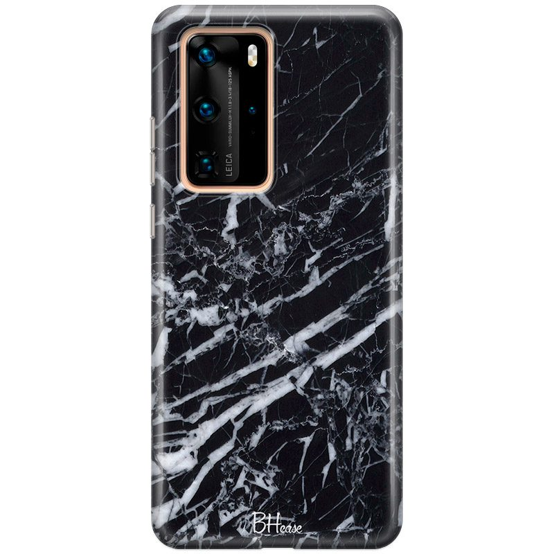 Marble Black Coque Huawei P40 Pro