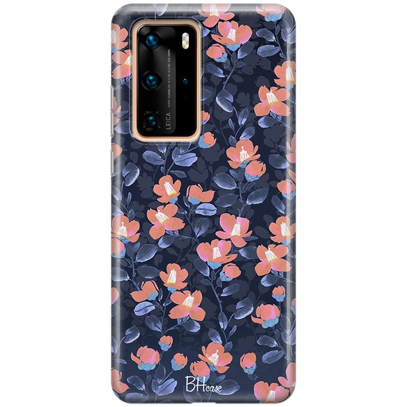 Midnight Floral Coque Huawei P40 Pro