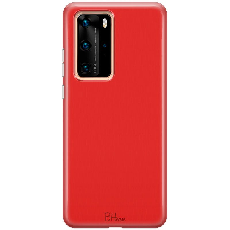 Red Apple Color Coque Huawei P40 Pro