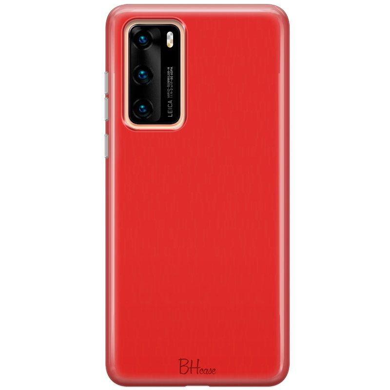 Red Apple Color Coque Huawei P40