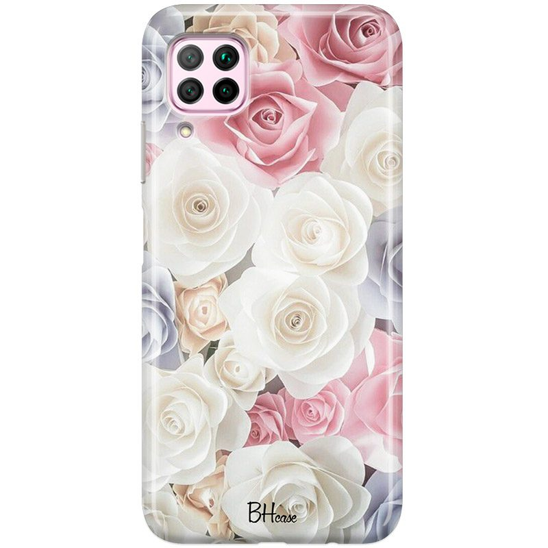 Roses Old Coque Huawei P40 Lite