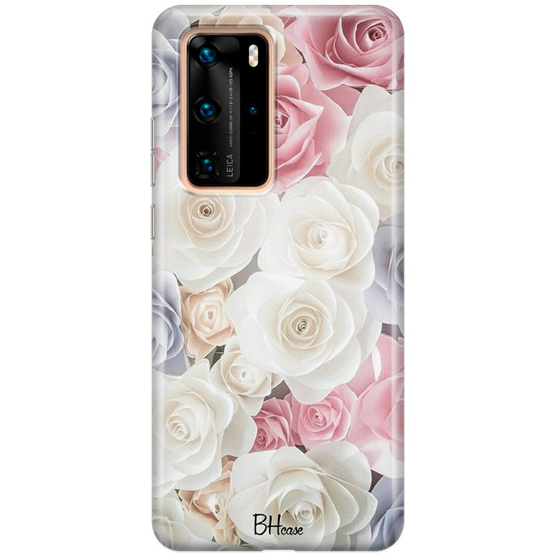 Roses Old Coque Huawei P40 Pro