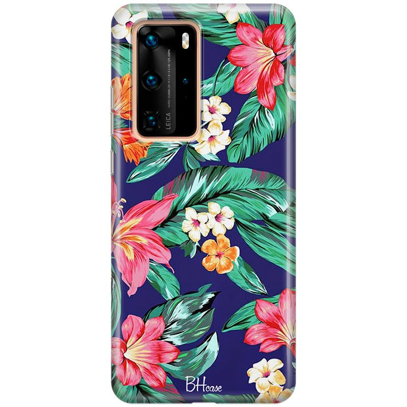 Roshe Flowers Coque Huawei P40 Pro