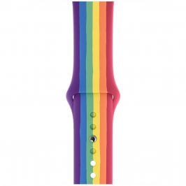Silicone Bracelet Apple Watch 38/40mm Rainbow Small