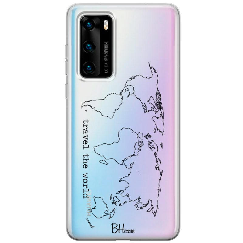 Travel The World Coque Huawei P40