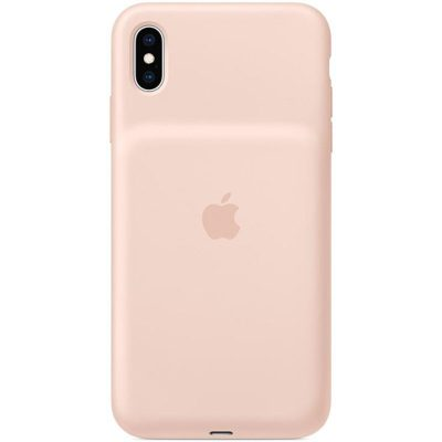 Apple Smart Battery Pink Sand Coque iPhone XS