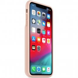 Apple Smart Battery Pink Sand Coque iPhone XS Max