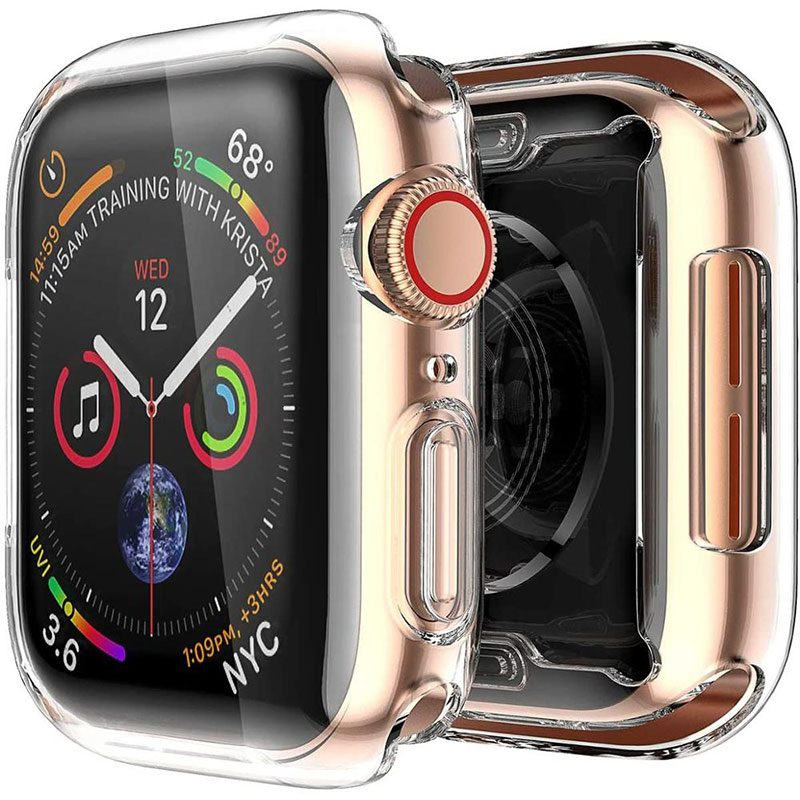 Full Transparent Silicone Coque Apple Watch 38mm