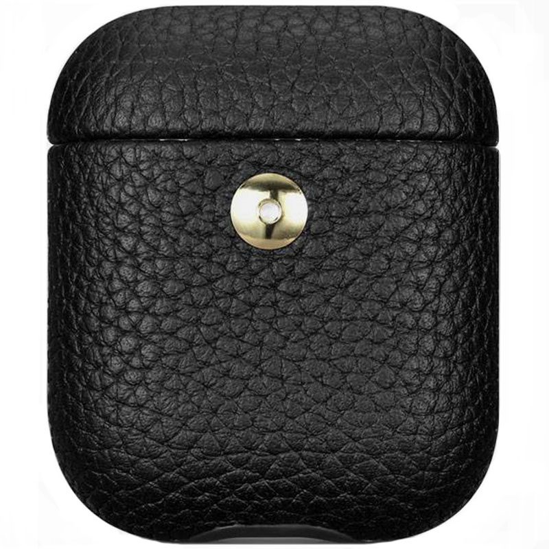 iCarer Hermes Leather Coque AirPods Black