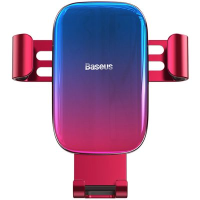 Baseus Glaze Gravity Car Mount Red