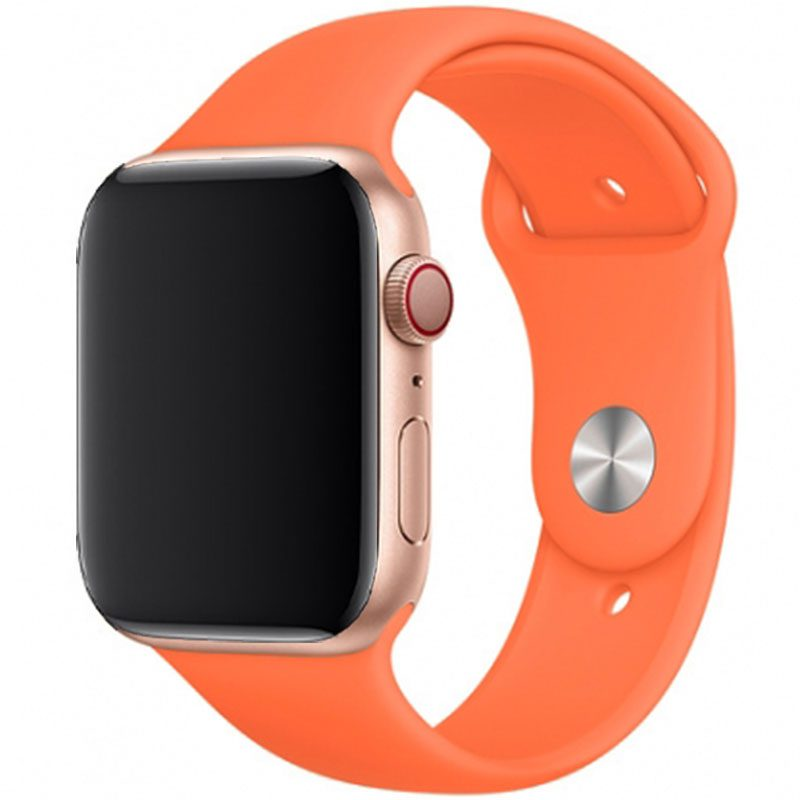 Silicone Bracelet Apple Watch 42/44mm Vitamin C Large