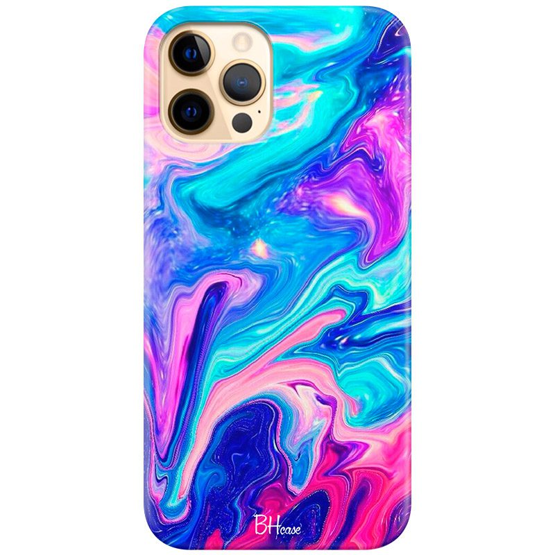 Abstract Blue Coque iPhone 12 Pro Max