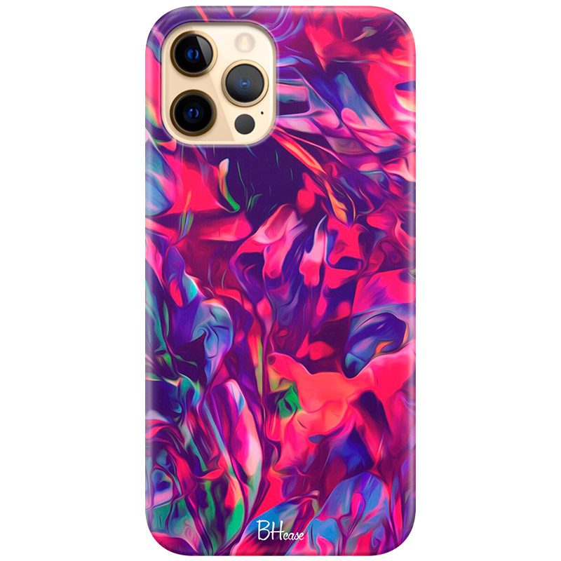 Abstract Red Coque iPhone 12 Pro Max