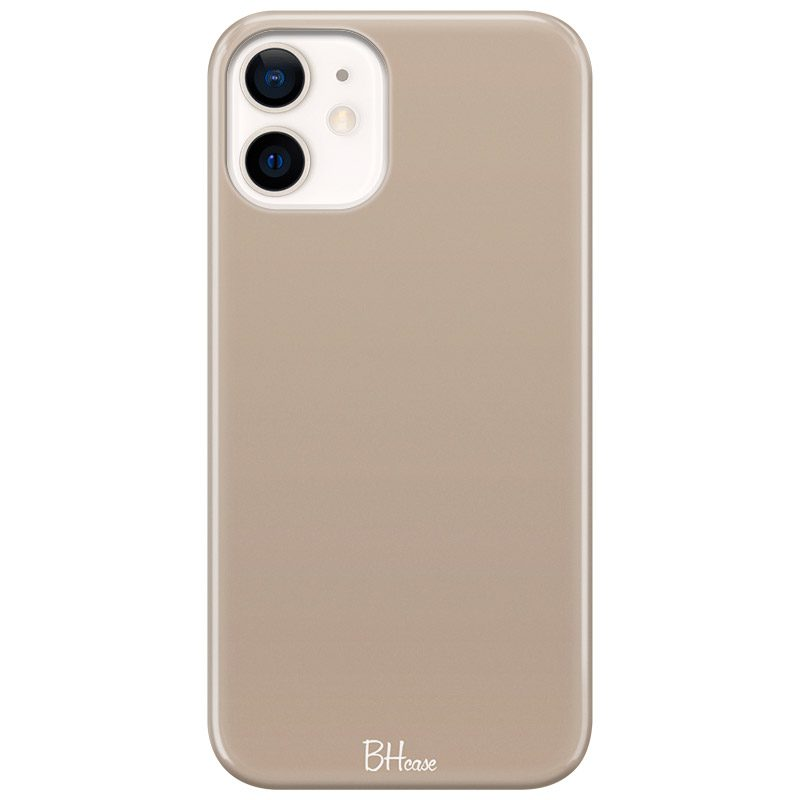 Beige Coque iPhone 12 Mini