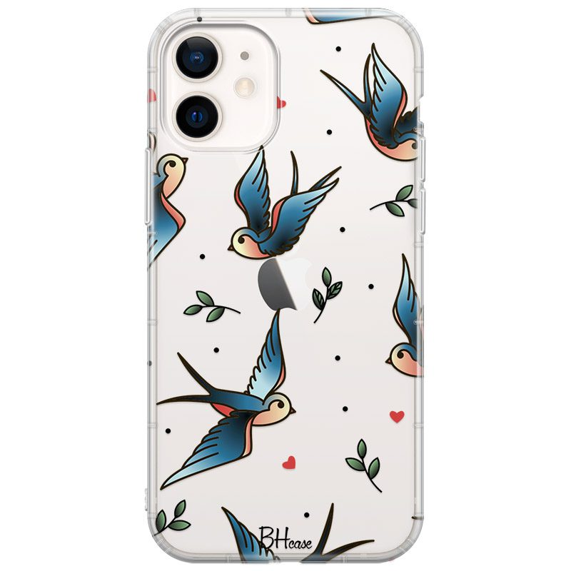 Birds Tattoo Coque iPhone 12/12 Pro