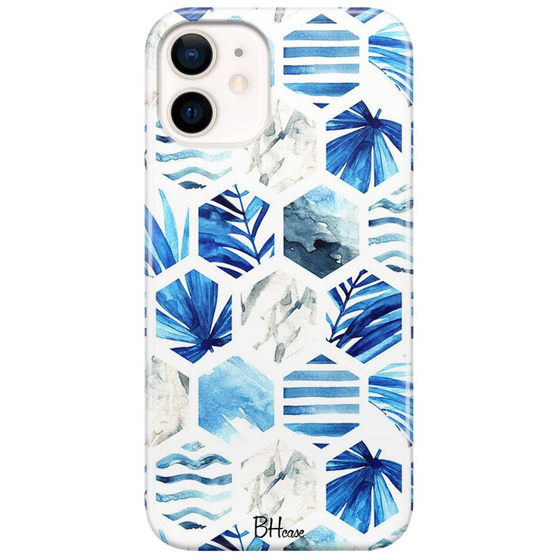 Blue Design Coque iPhone 12 Mini