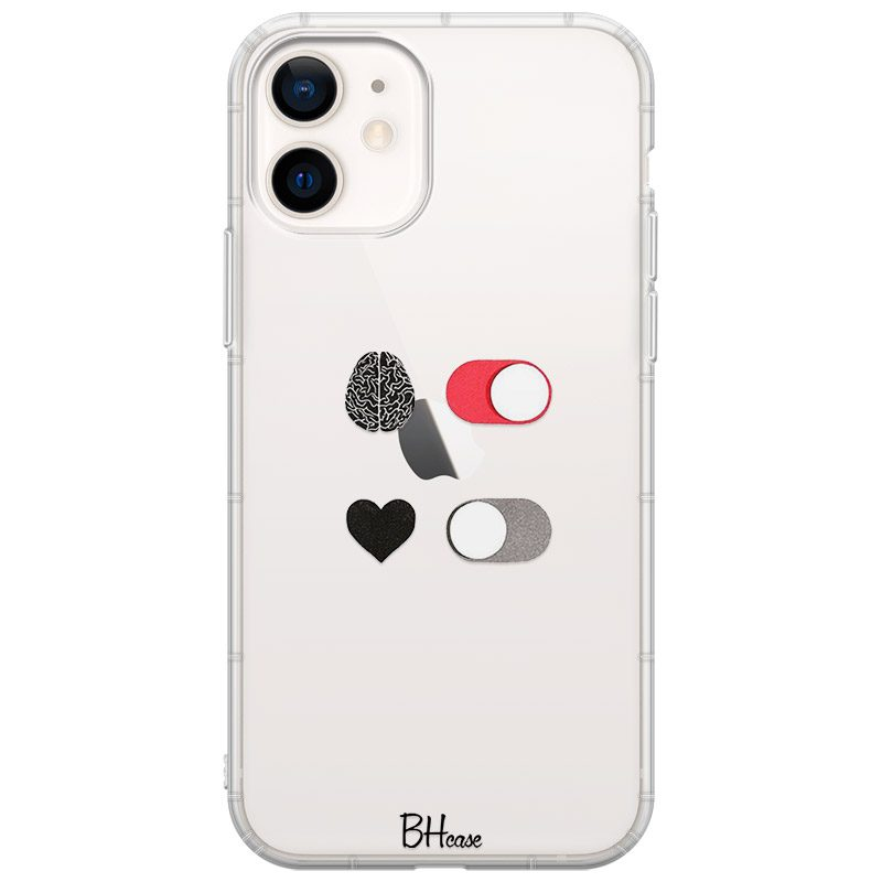 Brain On Heart Off Coque iPhone 12 Mini