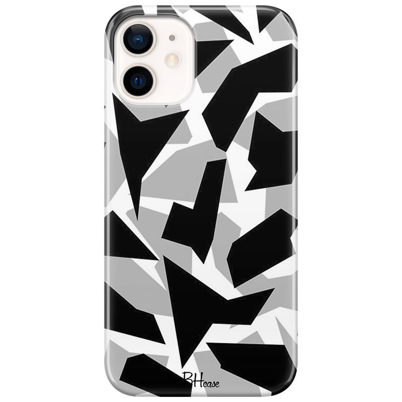 Camo Grey Coque iPhone 12/12 Pro