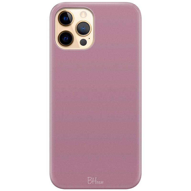 Candy Pink Color Coque iPhone 12 Pro Max