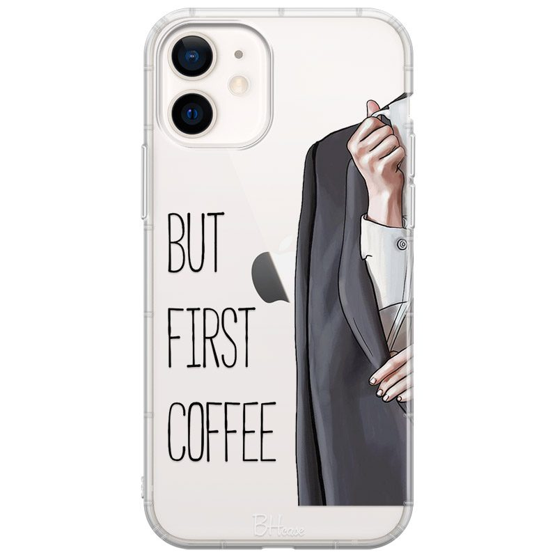 Coffee First Coque iPhone 12/12 Pro