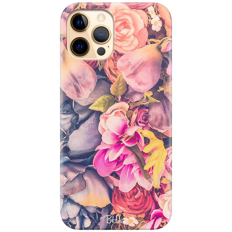 Colorful Flowers Coque iPhone 12 Pro Max