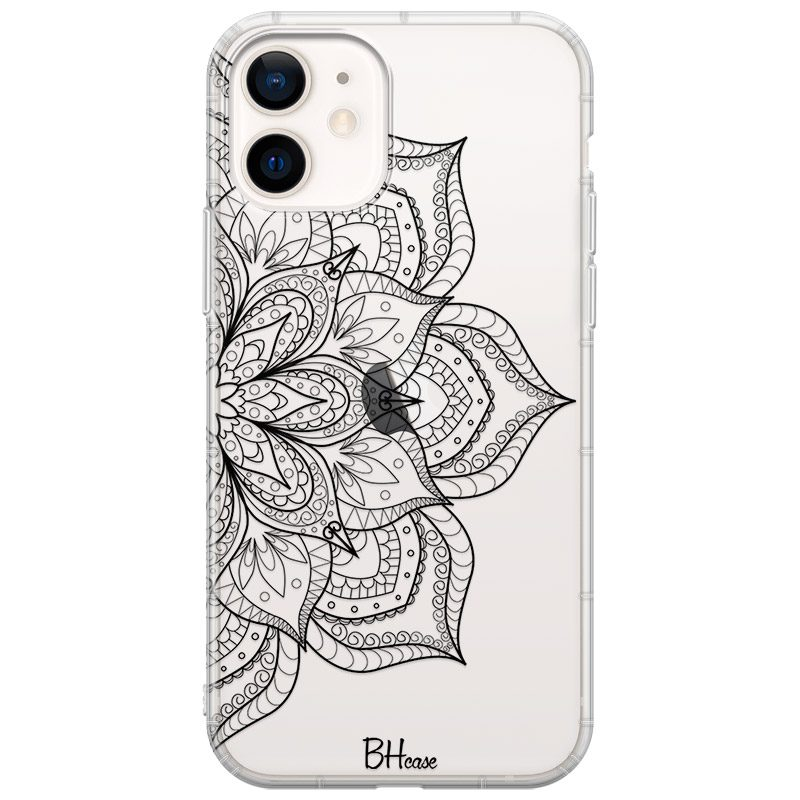 Flower Mandala Coque iPhone 12/12 Pro