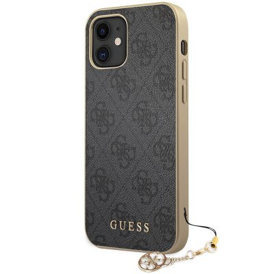 Guess 4G Charms Grey Coque iPhone 12 Mini