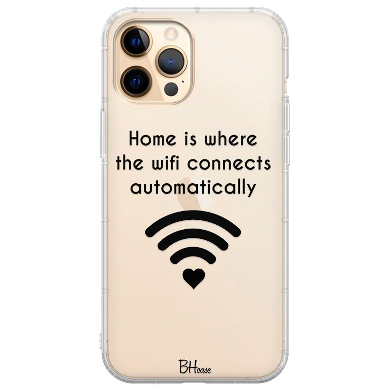Home Is Where The Wifi Connects Automatically Coque iPhone 12 Pro Max