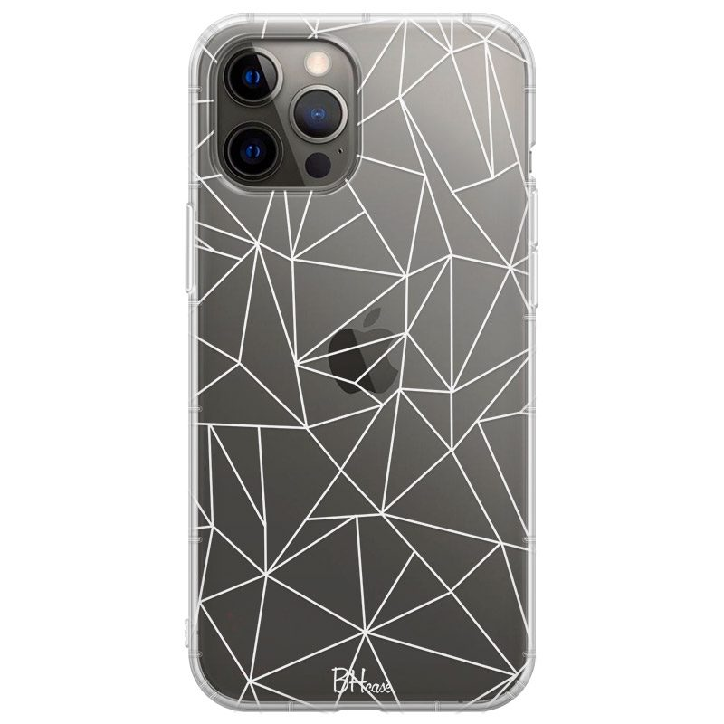 Lines White Net Coque iPhone 12 Pro Max
