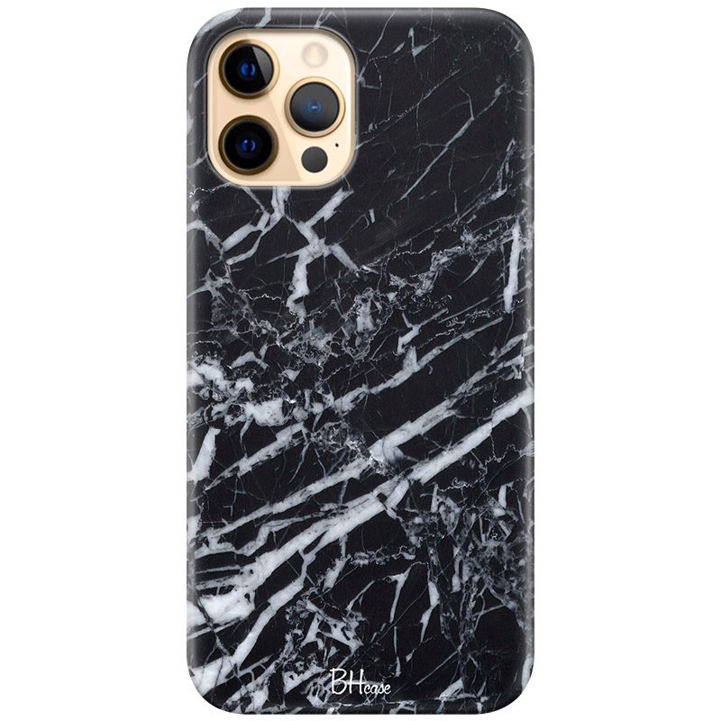 Marble Black Coque iPhone 12 Pro Max