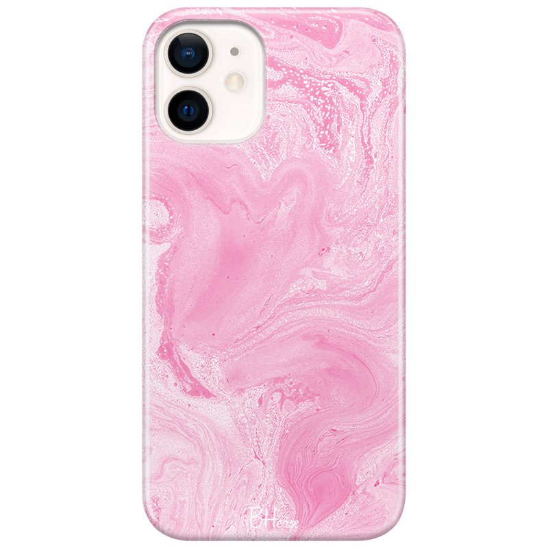 Marble Pink Coque iPhone 12 Mini