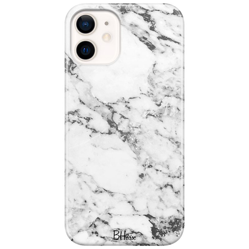 Marble White Coque iPhone 12 Mini