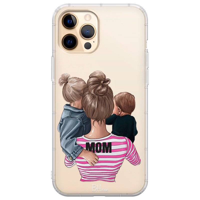 Mom Of Boy And Girl Coque iPhone 12 Pro Max