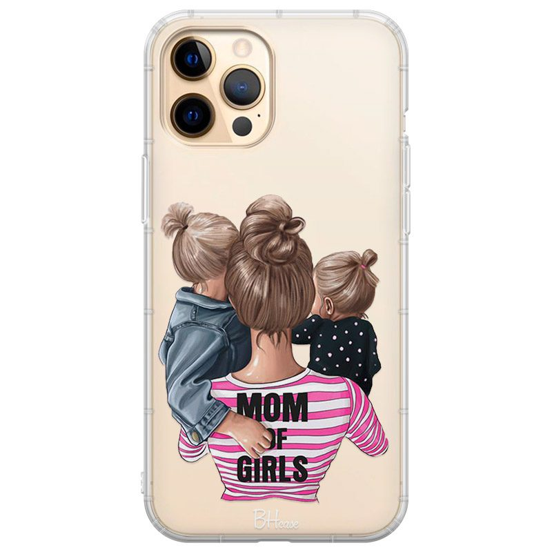 Mom of Girls Coque iPhone 12 Pro Max