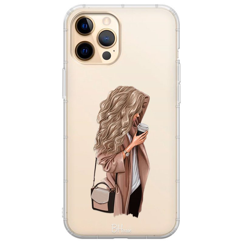 Morning Coffee Blonde Coque iPhone 12 Pro Max