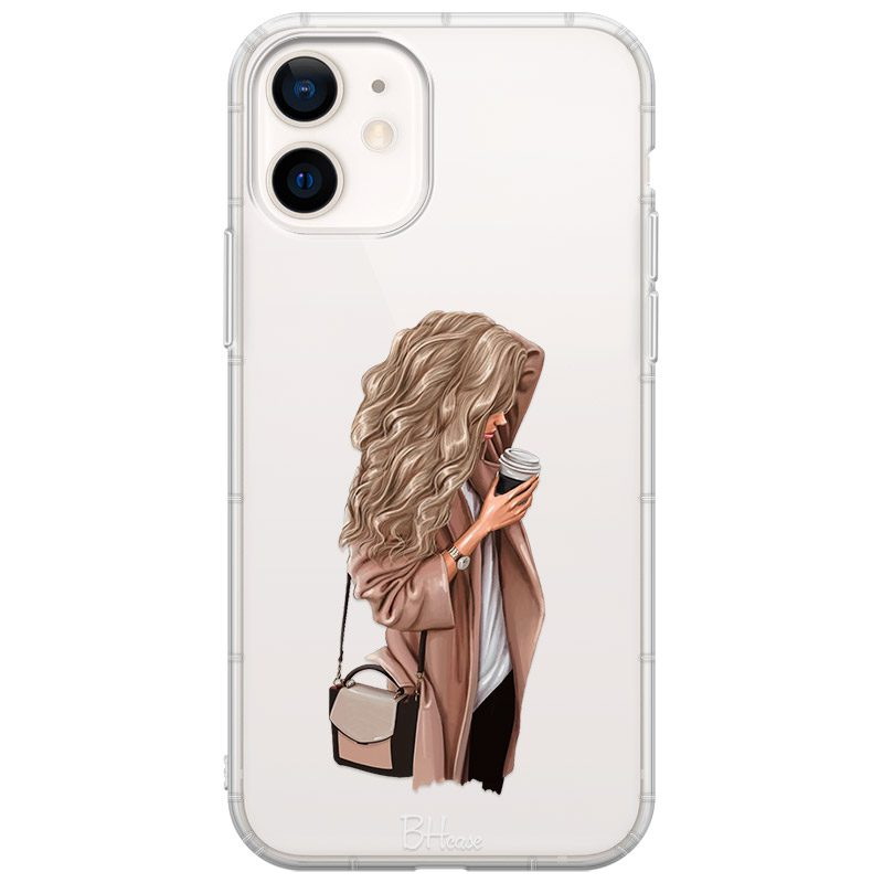 Morning Coffee Blonde Coque iPhone 12 Mini