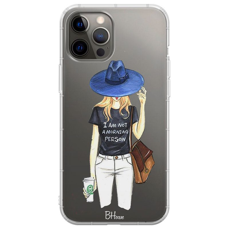 Morning Person Girl Coque iPhone 12 Pro Max