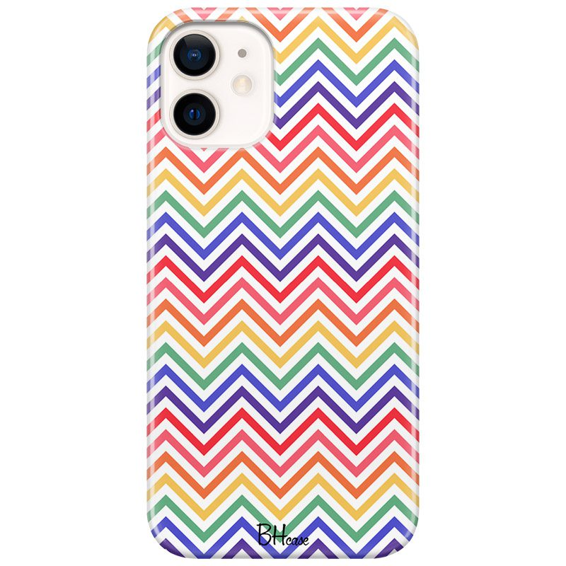 Rainbow Geometric Coque iPhone 12 Mini