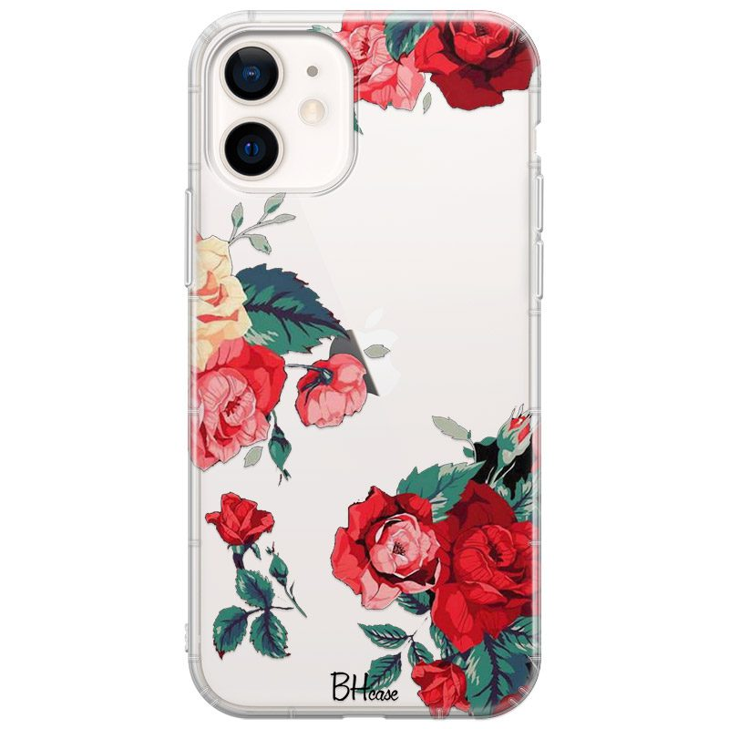 Roses Coque iPhone 12/12 Pro