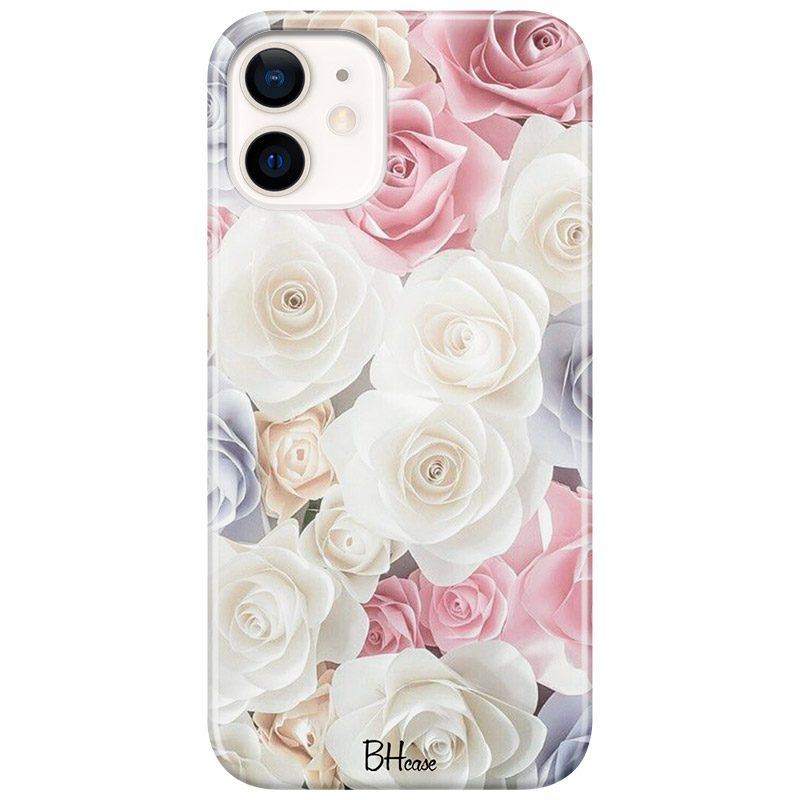 Roses Old Coque iPhone 12/12 Pro