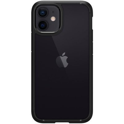 Spigen Ultra Hybrid Matte Black Coque iPhone 12 Mini