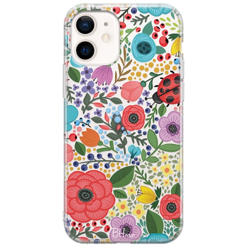 Spring Flowers Coque iPhone 12 Mini