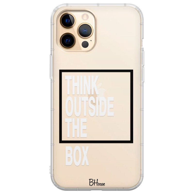 Think Outside The Box Coque iPhone 12 Pro Max