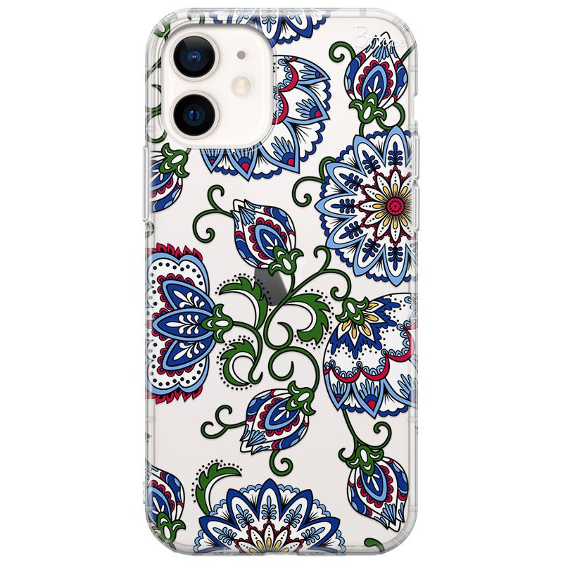 Vintage Floral Coque iPhone 12/12 Pro