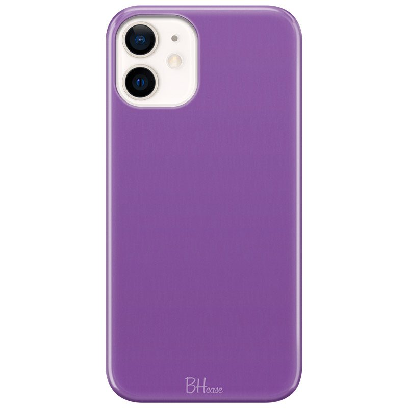 Violet Color Coque iPhone 12 Mini