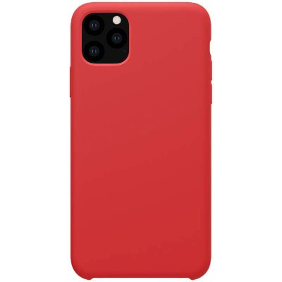 Nillkin Flex Pure Liquid Silicone Red Coque iPhone 11 Pro