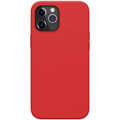 Nillkin Flex Pure Liquid Silicone Red Coque iPhone 12 Pro Max